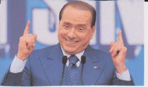 The charismatic Silvio Berlusconi