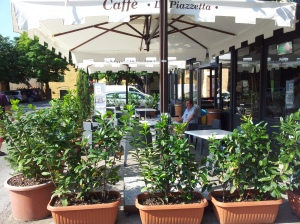 Cafe La Piazzetta in Fiano