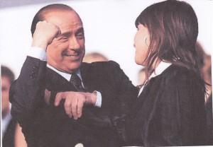 Silvio- feel my muscle!