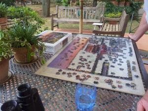 Big Jigsaw in progress