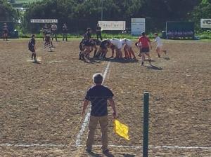 Siena under 14's rugby. Photo P Finnigan