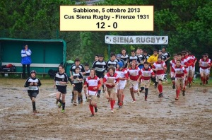 The grandson leads Siena under 14's Rugby to victory in black & white