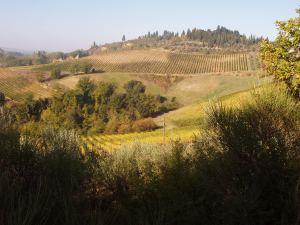 The valley below our villa Photo J Finnigan