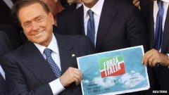 Silvio re-launches 'Forza Italia' Photo Reuters