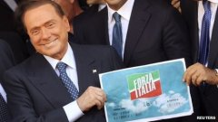 Silvio re-launches 'Forza Italia' Photo Reuters
