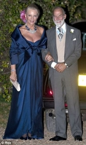 The Duke and Princess Michael of Kent fly to Pisa looking a little overdressed. Photo Mail online