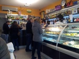 Inside Bar/Pasticeria Fiorentina in Montespertoli