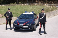 Don't mess with the Carabinieri! Photo Il Tabloid
