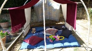 The children's Beduin Tent Phot P Finnigan