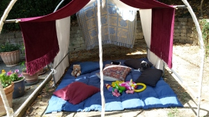 The children's Beduin Tent Phot P Finnigan