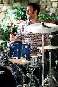 Mario on Drums Photo Chiara Beneli
