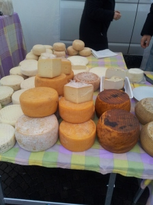 Melt in the mouth Cheeses in Certaldo's Saturday Market Photo J Finnigan