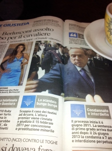 Silvio's case is thrown out! Il Terreno newspaper.