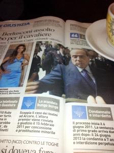 Silvio's case is thrown out! Il Terreno newspaper.