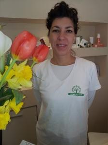 My beautician, the lovely Irene at Esteticamente, via Trento 28/B, Certaldo.  Tel 0039 057166087