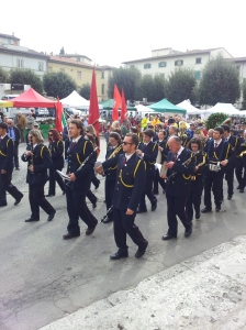 25th April.  The Festa Della Liberazione March in Certaldo. Photo J Finnigan