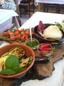 Dinner at C'era una Volta last Friday.  My first Buratta of the year. Photo J Finnigan