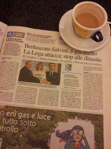 Silvio in Napoli. Photo La Nazione