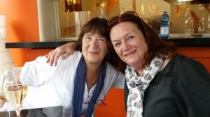 Me and Penny meet for the first time in fifty years! Foto P Finnigan