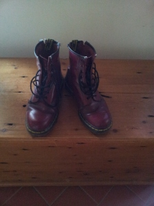 Goodbye red Doc Martens Foto J Finnigan