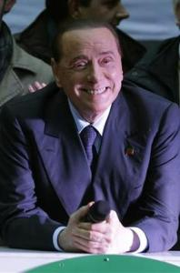 Silvio grinning. Photo The Guardian