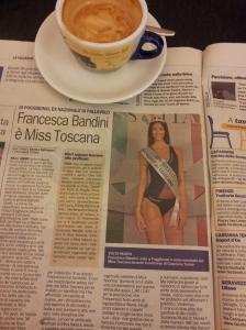 The New Miss Toscana, Francesca