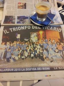 The Calambur Victors! La Nazione
