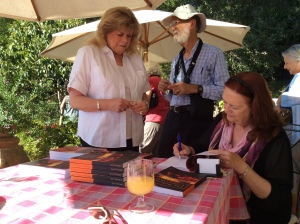 Book signing for the Artists Photo J Stobbs
