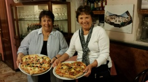 The Two Old Broads, taking Italy by Storm! Jane and Nubby.