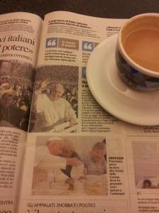 Pope Francis in Florence. La Nazione