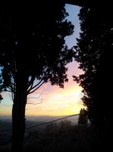 December sunset. Photo J Finnigan