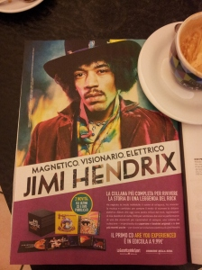Jimi Hendrix joins us for coffee. Il Nazione