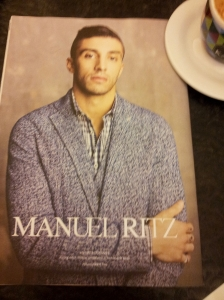 Maniac Gentleman Andrea Iannone for you girlies. Sports magazine Il Nazione