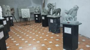 The exhibition. Photo P Finnigan