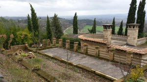 Rooftop View of the Chianti hills. Photo P Finnigan