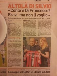 Silvio Berlusconi. Il Nazione Sportivo.