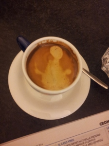 Seeing spooks and aliens in my morning coffee! foto J Finnigan