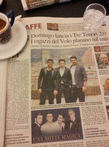 Georgous Italian Opera singers. La nazione.