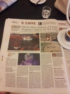 Pink Floyd in Roma. La Nazione