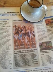 Miss Toscana Sportivo. La Nazione