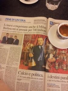 Silvio Berlusconi hands over AC Milan to the Chinese. La Nazione