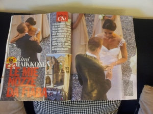 Celebrity Wedding. Chi magazine.