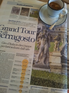 Grand Tour Ferragosto La Terrana