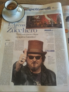 The Italian Rock Singer known as Zucchero La Repubblica