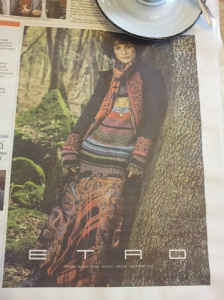 Autumn Italian Fashion, beautiful. La Repubblica.
