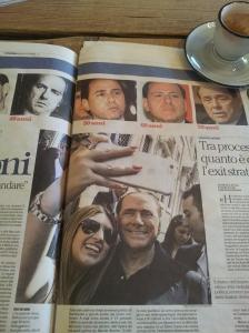 Silvio celebrates his 80th! La Nazione
