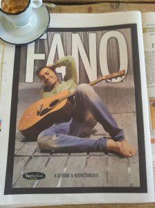 October Hunk of the Month the Italian musician known as 'Fano' La Repubblica
