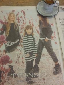Italian chidren's fashion. La Repubblica