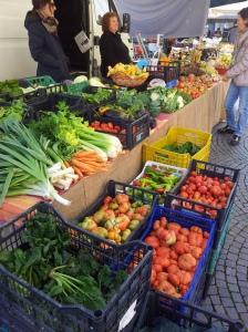 October fruit and veg in Certaldo. Foto J Finnigan