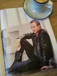 Sting at 65. La Repubblica magazine.